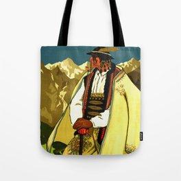 Zakopane Poland - Vintage Travel Tote Bag