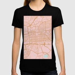 Johannesburg map, South Africa T-shirt