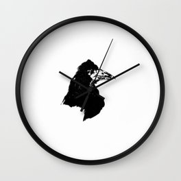 Edouard Manet - The raven by Poe 6 Wall Clock