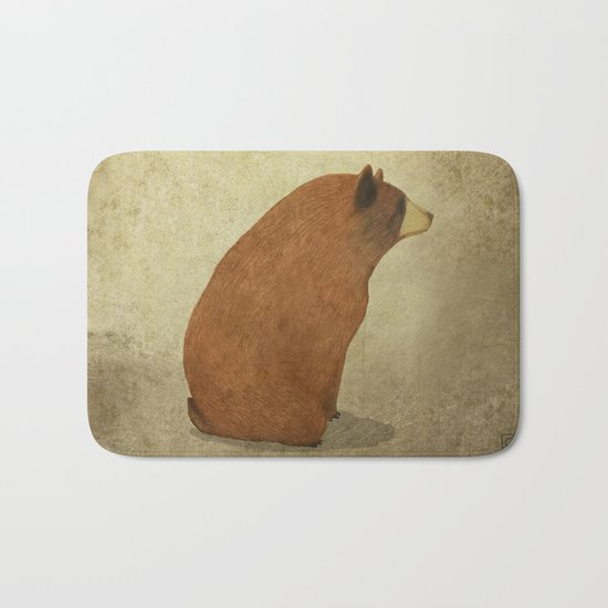 The bear Bath Mat
