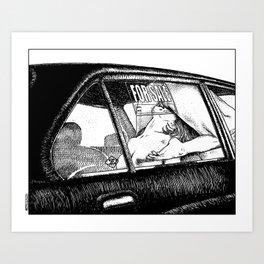 asc 450 - La bonne affaire (A good bargain) Art Print