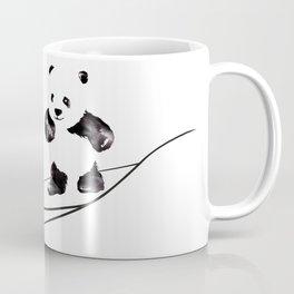 Surfing Panda Coffee Mug