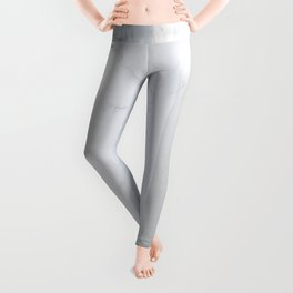 Marble Silver Leggings