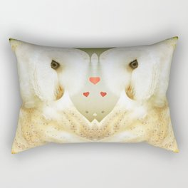 All is full of love Rectangular Pillow