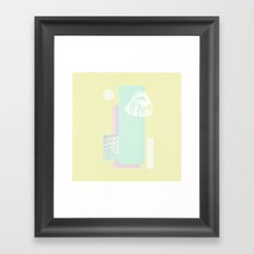 røsa Framed Art Print
