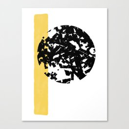Abstract Moon #society6 #abstractart Canvas Print