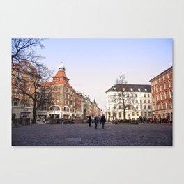 Vesterbros Torv Canvas Print