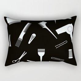 Hairdressing Tools Rectangular Pillow