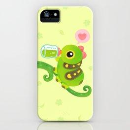 Leaf Milk iPhone Case