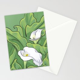 Calla Lily Valley Stationery Cards