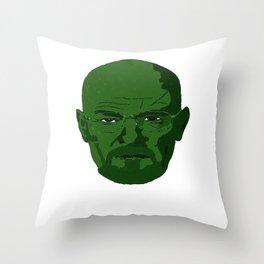 Walter Green Throw Pillow