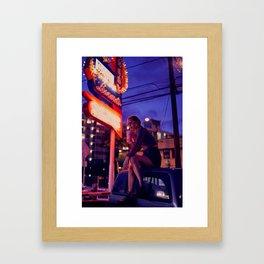 L A L A - O N E Framed Art Print