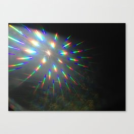 light lines Canvas Print