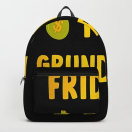 Funny saying pensioner pension money hello Backpack