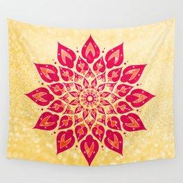 Mandala Savasana Wall Tapestry