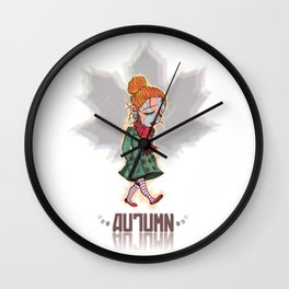 Otoño / Autumn Wall Clock