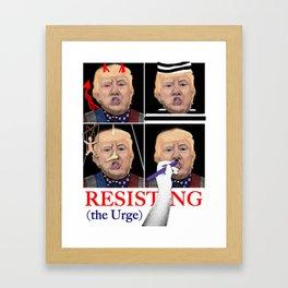 My Trump Fantasy Framed Art Print