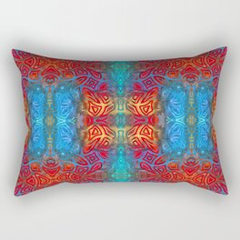 Psychedelic Pattern I Rectangular Pillow