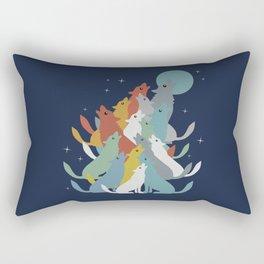 A Pack of Wolfs Rectangular Pillow
