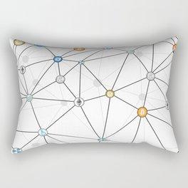 Cryptocurrency Rectangular Pillow