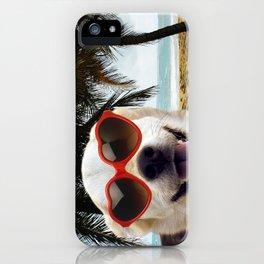 Carte Postale - Même au soleil tu ne me manques pas iPhone Case
