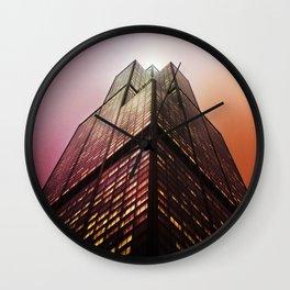 Willis Above Wall Clock