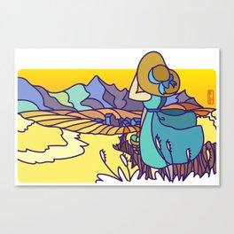 Missing Montana Canvas Print