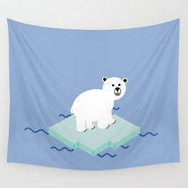 Snow Buddy Wall Tapestry