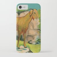 goat iPhone & iPod Cases featuring Goat! by Connie Goldman