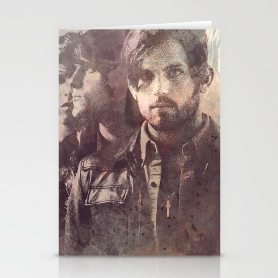 kings of leon Stationery Cards