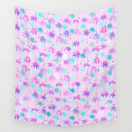 Palm tree pattern Wall Tapestry