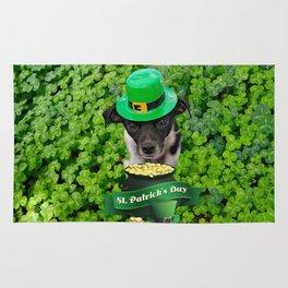 St. Patricks Day Dog Rug