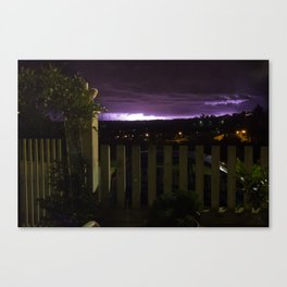 Thunder From South-East Canvas Print