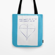 Love Equation Tote Bag