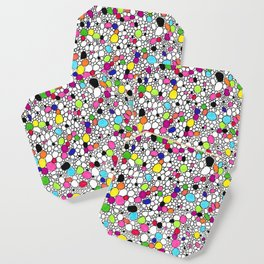 Circles and Other Shapes and colors Coaster