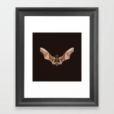 Brown PolyBat  Framed Art Print