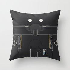 Minimal K-2SO Droid Throw Pillow