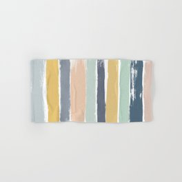 Pastel Stripes Hand & Bath Towel
