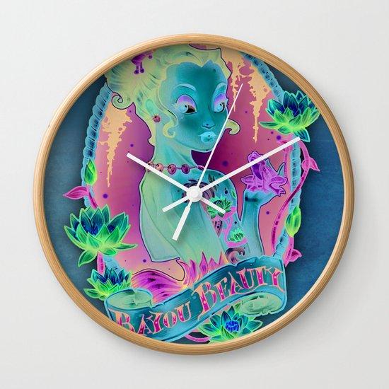 Bayou Beauty Wall Clock