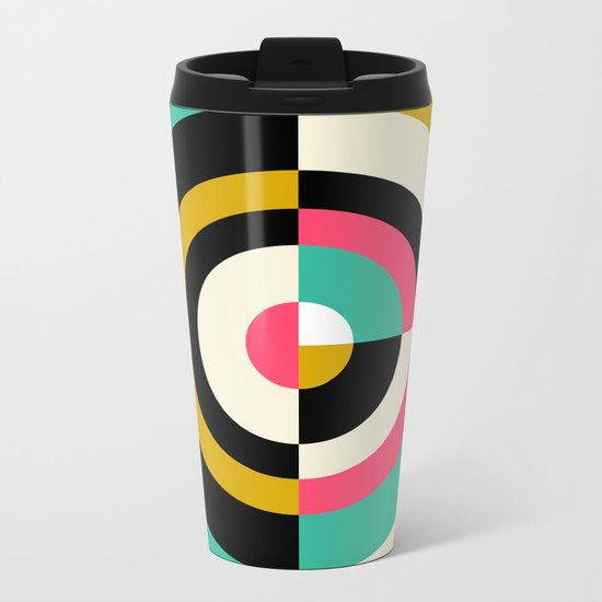 Target II Metal Travel Mug