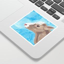 A Heifer Calf Named Keely Sticker