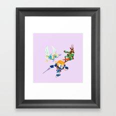 Battle Beasts - Trio 5 Framed Art Print