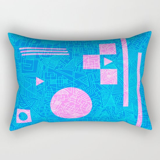 Futurism Rectangular Pillow
