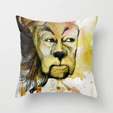 Cowardly Throw Pillow