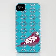 birds on tile Slim Case iPhone (4, 4s)