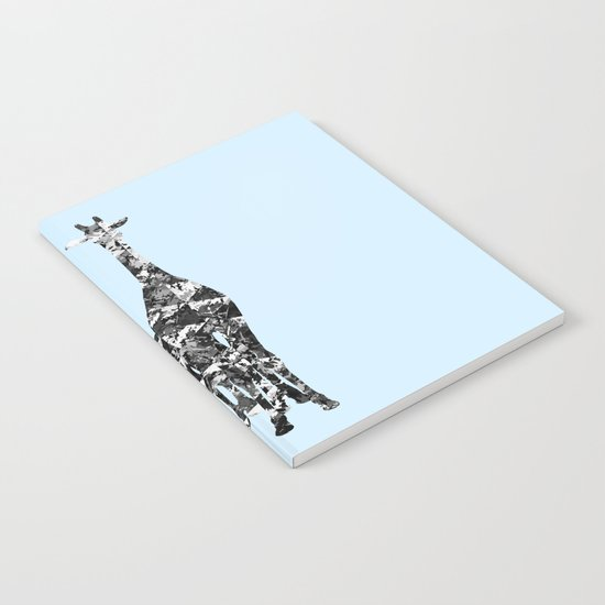 Patchwork Giraffes  Notebook