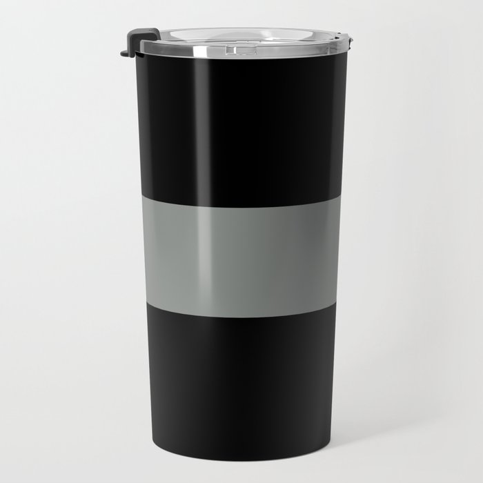 The Thin Grey Line Travel Mug