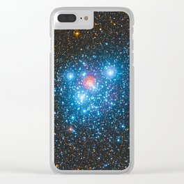 The Jewel Box Kappa Crucis Star Cluster NGC 4755 Clear iPhone Case
