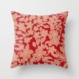 My Flower Design 5 Throw Pillow