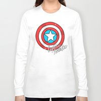 shield Long Sleeve T-shirts featuring Shield by Chelsea Herrick